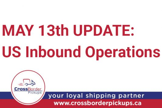 COVID-19 Update for US Inbound Operations