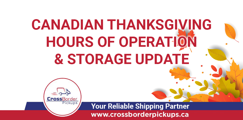 Canadian Thanksgiving and Storage Update 2020